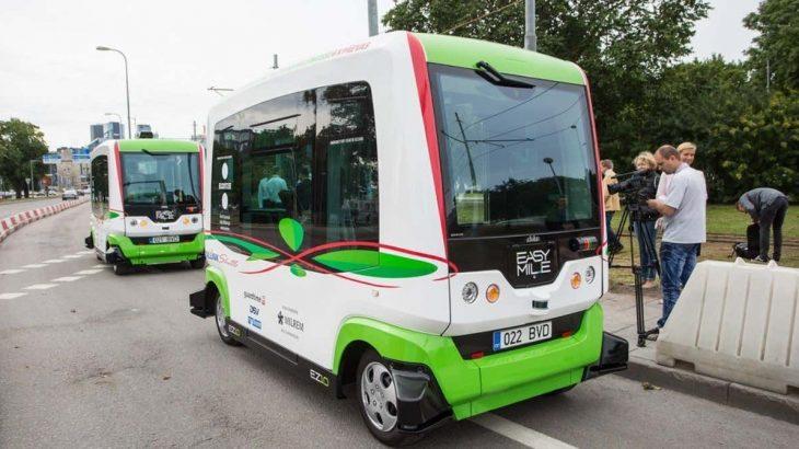エストニア、自動運転バスの試運転を3日だけしてみた。